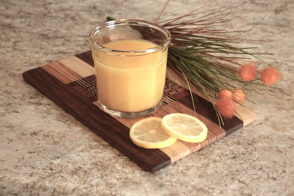 Ingefærshots med citron