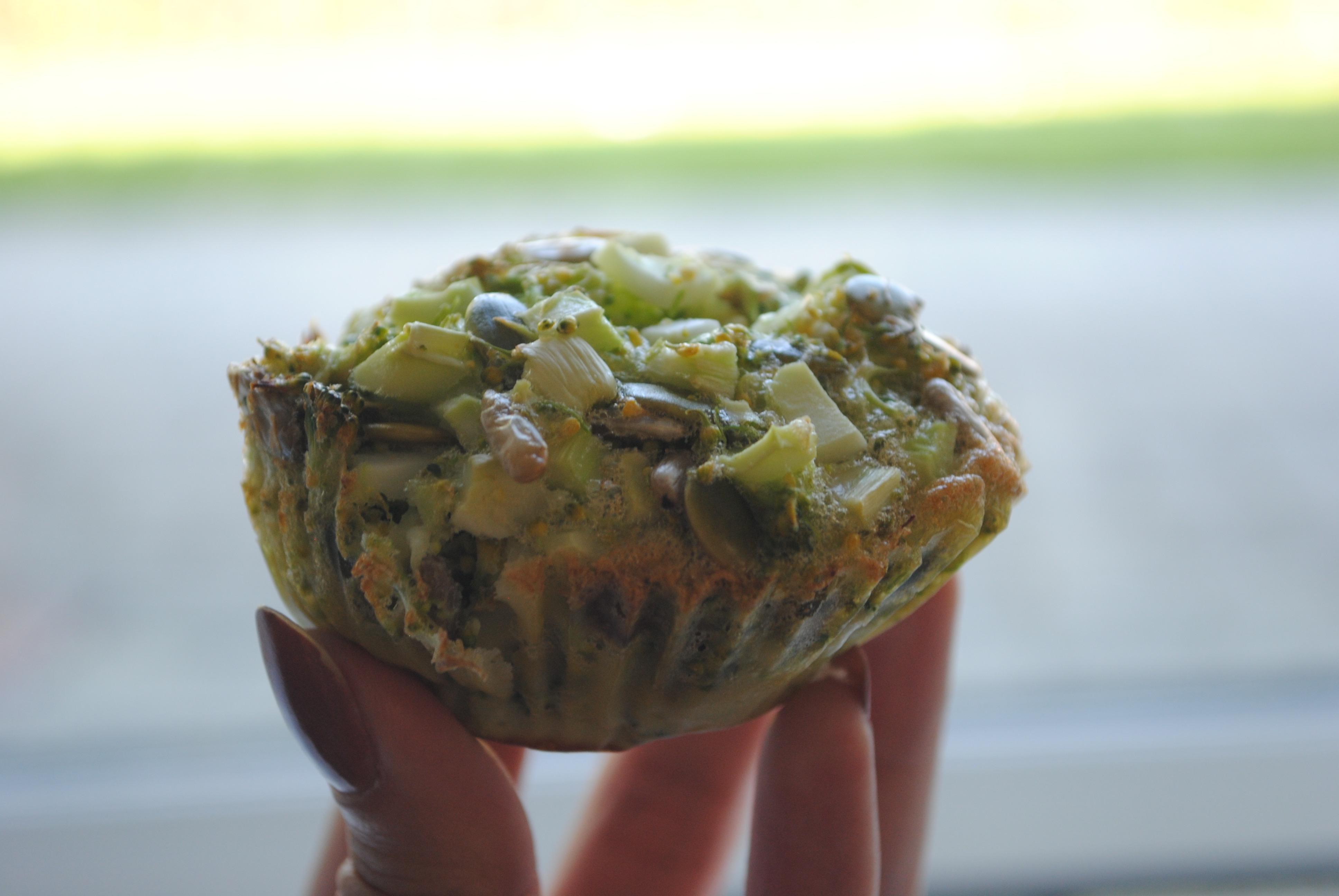Melfre broccoli muffins
