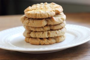 Peanutbutter protein cookies