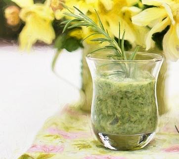 Hjemmelavet olivenpesto