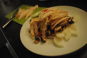 Thai inspireret kylling med karry