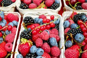 LCHF smoothie med bær og ingefær